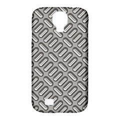 Grey Diamond Metal Texture Samsung Galaxy S4 Classic Hardshell Case (pc+silicone)