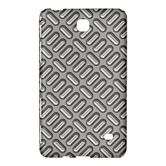 Grey Diamond Metal Texture Samsung Galaxy Tab 4 (8 ) Hardshell Case