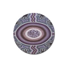 Spirit Of The Child Australian Aboriginal Art Magnet 3  (round)