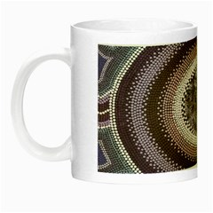 Spirit Of The Child Australian Aboriginal Art Night Luminous Mugs by BangZart