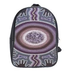 Spirit Of The Child Australian Aboriginal Art School Bags(large)