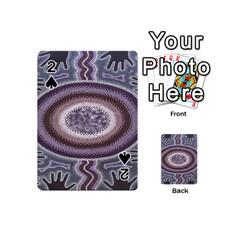 Spirit Of The Child Australian Aboriginal Art Playing Cards 54 (mini)