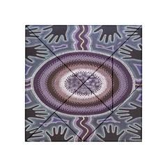 Spirit Of The Child Australian Aboriginal Art Acrylic Tangram Puzzle (4  X 4 )