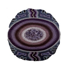 Spirit Of The Child Australian Aboriginal Art Standard 15  Premium Round Cushions