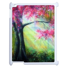 Forests Stunning Glimmer Paintings Sunlight Blooms Plants Love Seasons Traditional Art Flowers Sunsh Apple Ipad 2 Case (white) by BangZart
