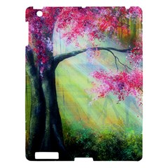 Forests Stunning Glimmer Paintings Sunlight Blooms Plants Love Seasons Traditional Art Flowers Sunsh Apple Ipad 3/4 Hardshell Case by BangZart