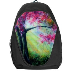 Forests Stunning Glimmer Paintings Sunlight Blooms Plants Love Seasons Traditional Art Flowers Sunsh Backpack Bag by BangZart