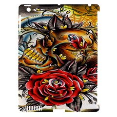 Flower Art Traditional Apple Ipad 3/4 Hardshell Case (compatible With Smart Cover)