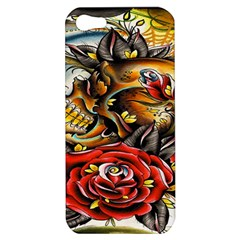 Flower Art Traditional Apple Iphone 5 Hardshell Case