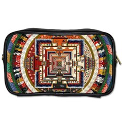 Colorful Mandala Toiletries Bags