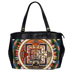 Colorful Mandala Office Handbags (2 Sides)