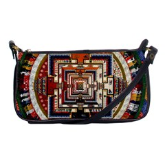 Colorful Mandala Shoulder Clutch Bags