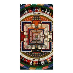 Colorful Mandala Shower Curtain 36  X 72  (stall)  by BangZart