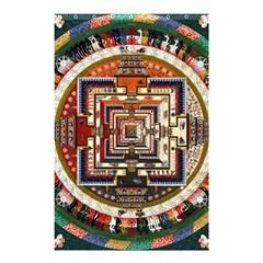 Colorful Mandala Shower Curtain 48  X 72  (small)