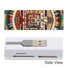 Colorful Mandala Memory Card Reader (stick)