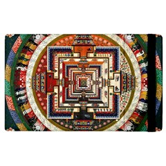 Colorful Mandala Apple Ipad 3/4 Flip Case by BangZart