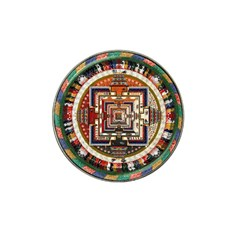 Colorful Mandala Hat Clip Ball Marker (10 Pack)