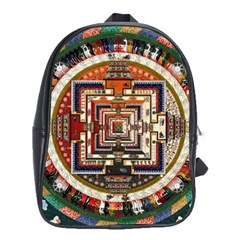 Colorful Mandala School Bags(large)