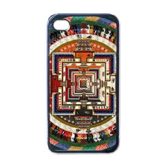 Colorful Mandala Apple Iphone 4 Case (black)