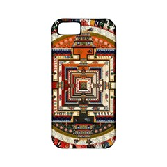 Colorful Mandala Apple Iphone 5 Classic Hardshell Case (pc+silicone)