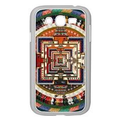 Colorful Mandala Samsung Galaxy Grand Duos I9082 Case (white)