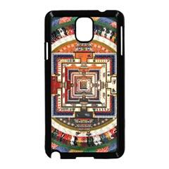 Colorful Mandala Samsung Galaxy Note 3 Neo Hardshell Case (black)