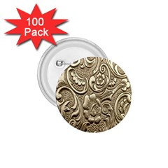 Golden European Pattern 1 75  Buttons (100 Pack)