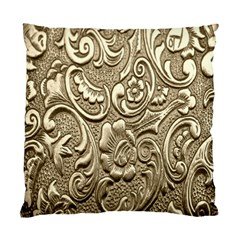 Golden European Pattern Standard Cushion Case (one Side)