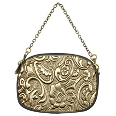 Golden European Pattern Chain Purses (two Sides)