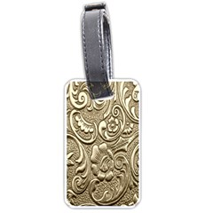 Golden European Pattern Luggage Tags (one Side)  by BangZart
