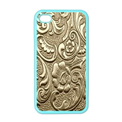 Golden European Pattern Apple Iphone 4 Case (color) by BangZart