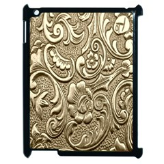 Golden European Pattern Apple Ipad 2 Case (black) by BangZart