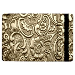 Golden European Pattern Ipad Air 2 Flip
