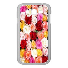 Rose Color Beautiful Flowers Samsung Galaxy Grand Duos I9082 Case (white)