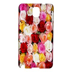 Rose Color Beautiful Flowers Samsung Galaxy Note 3 N9005 Hardshell Case