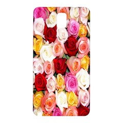 Rose Color Beautiful Flowers Samsung Galaxy Note 3 N9005 Hardshell Back Case