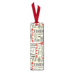 Backdrop Style With Texture And Typography Fashion Style Small Book Marks by BangZart