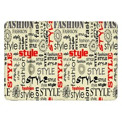 Backdrop Style With Texture And Typography Fashion Style Samsung Galaxy Tab 8 9  P7300 Flip Case
