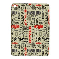 Backdrop Style With Texture And Typography Fashion Style Ipad Air 2 Hardshell Cases by BangZart