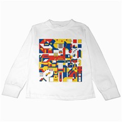 Hide And Seek Kids Long Sleeve T Shirts