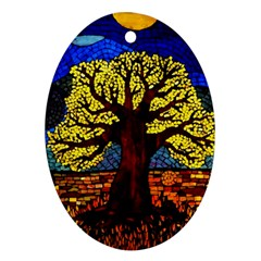 Tree Of Life Ornament (oval)