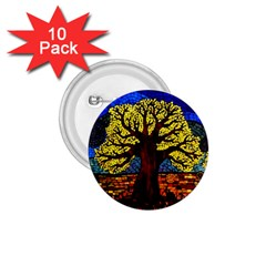 Tree Of Life 1 75  Buttons (10 Pack) by BangZart
