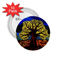 Tree Of Life 2 25  Buttons (10 Pack)