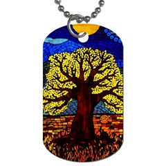 Tree Of Life Dog Tag (one Side)