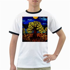 Tree Of Life Ringer T Shirts