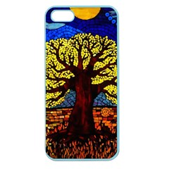 Tree Of Life Apple Seamless Iphone 5 Case (color) by BangZart
