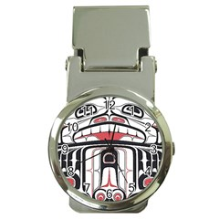 Ethnic Traditional Art Money Clip Watches