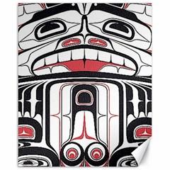 Ethnic Traditional Art Canvas 16  X 20