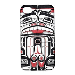 Ethnic Traditional Art Apple Iphone 4/4s Hardshell Case With Stand