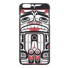 Ethnic Traditional Art Apple Iphone 6 Plus/6s Plus Black Enamel Case
